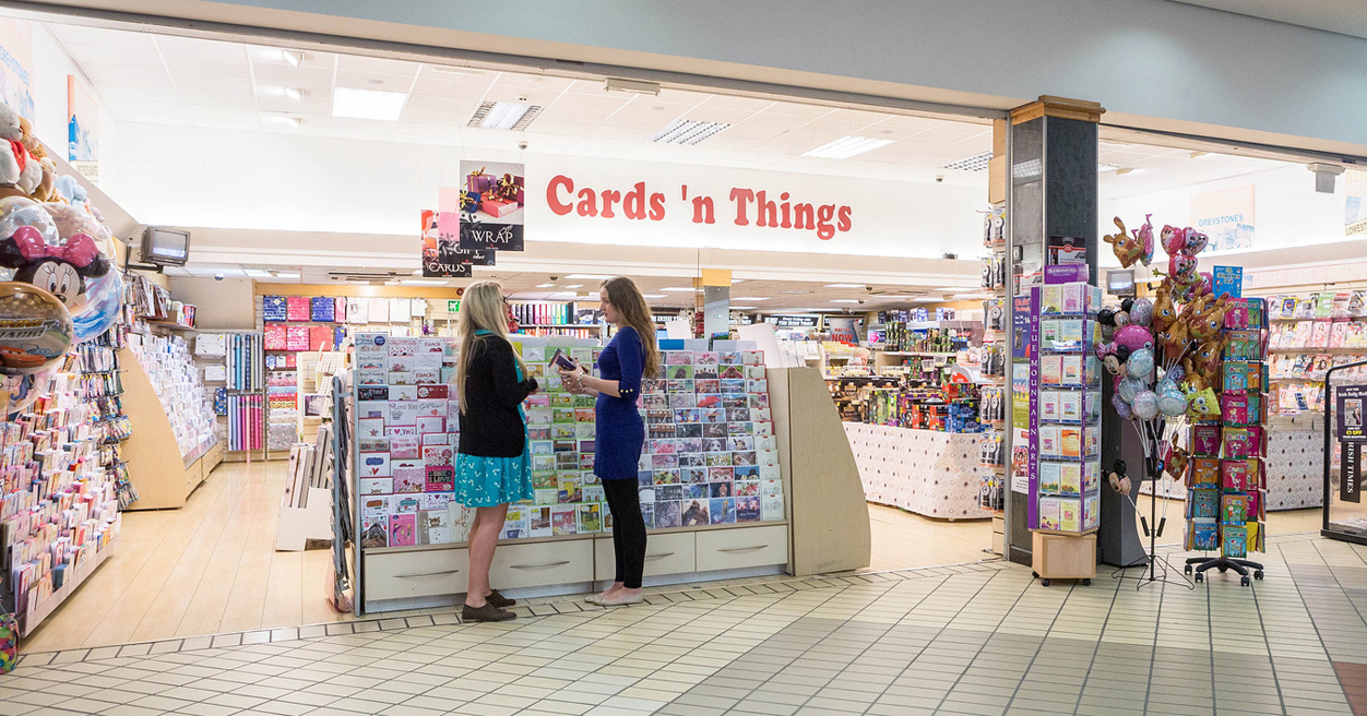 Cards N Things Greystones Shopping Centre Newsagents Greeting Card